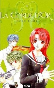 Yuki Kure - La corde d'or T1 CV-071839-072573