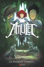 Kazu Kibuishi - Le dernier conseil - Amulet T4 CV-114926-119504